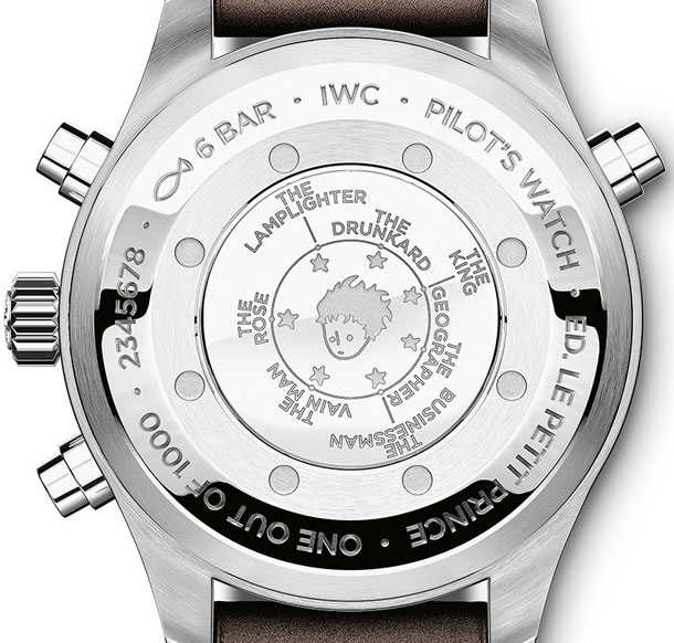 IWC Pilot's Watch Double Chronograph Edition копия