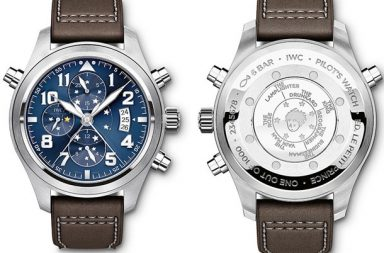IWC Pilot's Watch Double Chronograph Le Petit Prince копия