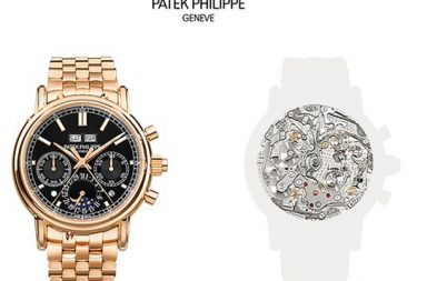 Patek Philippe Split-Seconds Perpetual Calendar копия
