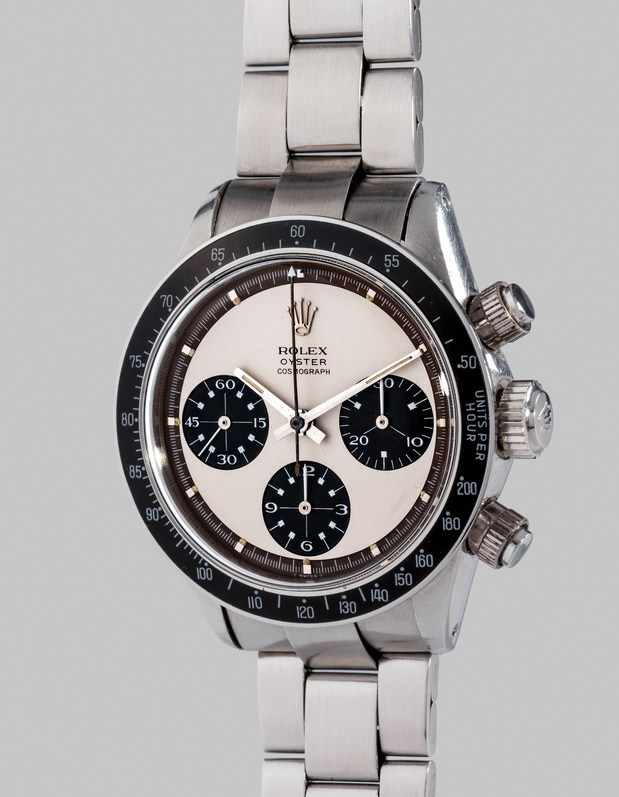"10. Rolex Oyster Cosmograph ""Paul Newman Panda"" Ref. 6263"